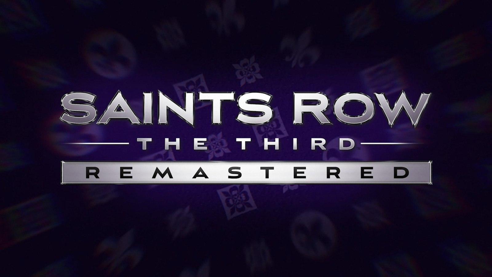 《黑道圣徒3 复刻版》正式公布,将于5月22日发售