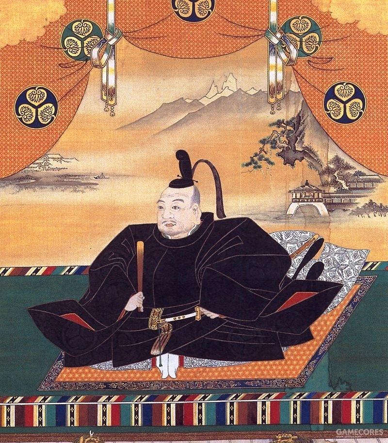 德川家康的人物像(来自Wiki)
