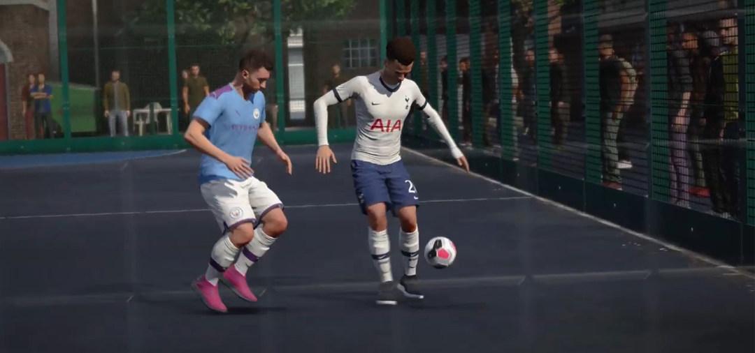 《FIFA 20》更新街头足球模式预告片,展示丰富玩法和可玩内容