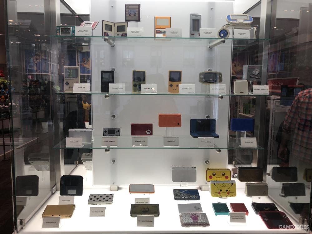 各种各样的3DS和历代掌机