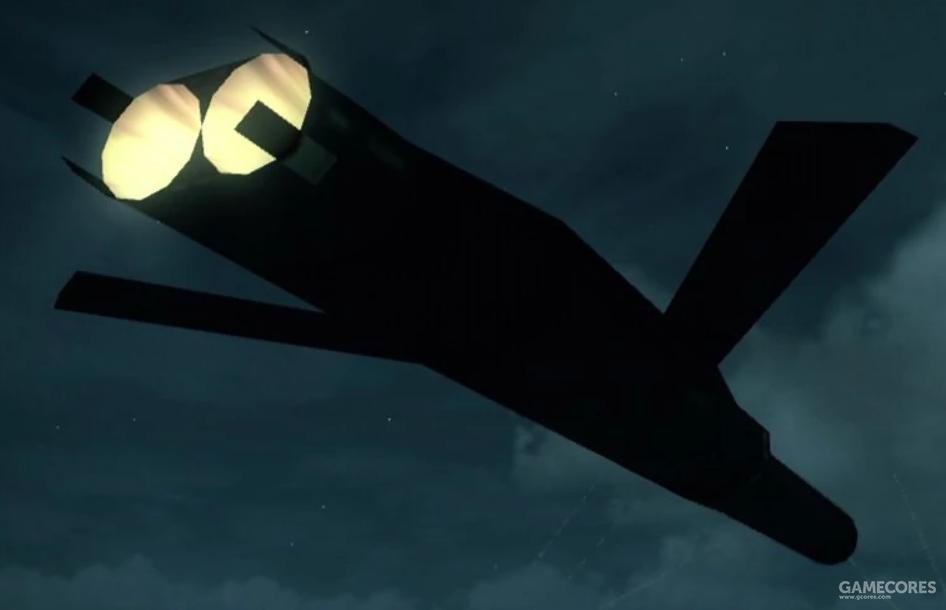 """作为报复武器而投入使用的""""吊灯""""用巡航导弹""""Stauros"""",因为是多导弹弹头所以非常巨大"""