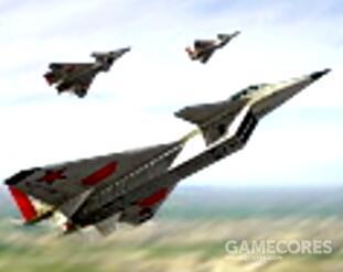 米格,主要是对地轰炸,投掷燃烧弹,四个一起轰炸同一地点会烧起火海,本身比较脆容易死,对空打不过蓝军F22