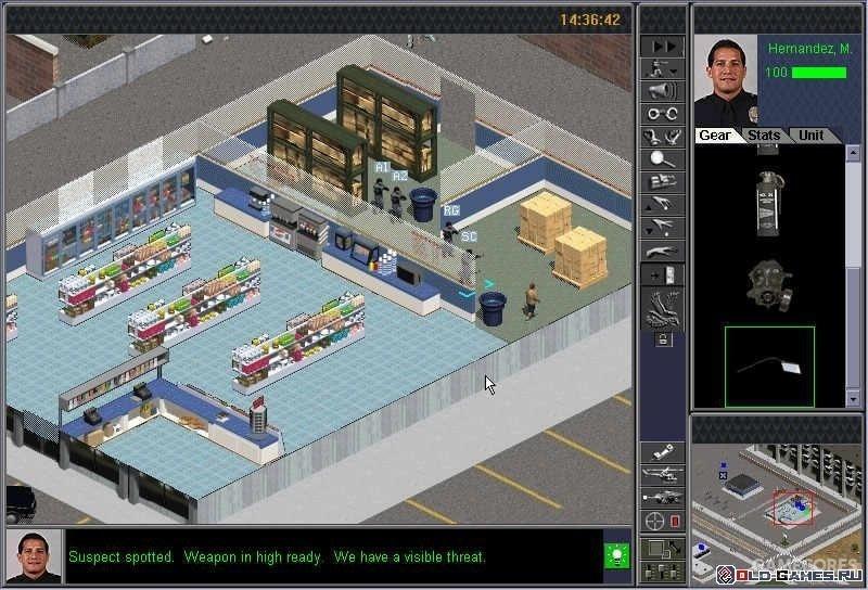 Police Quest SWAT 2 游戏画面
