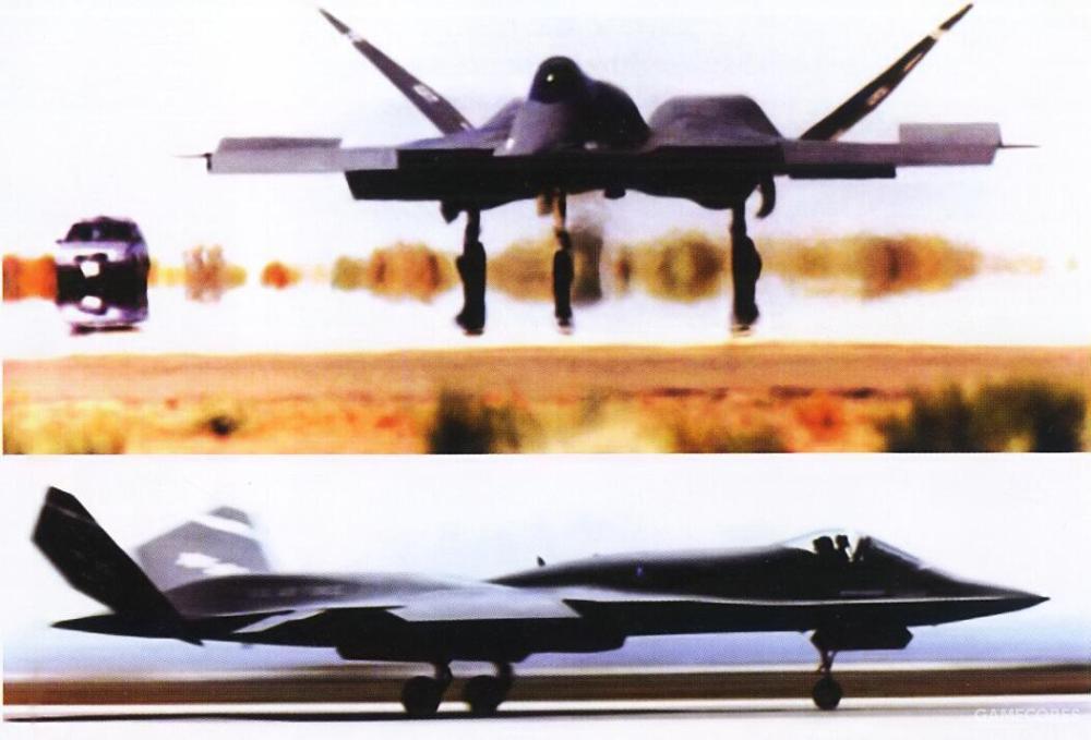 在1990年6月22日的出厂仪式在结束后,YF-23 PAV-1在1990年7月与8月进行了地面滑跑测试。滑跑速度从15节至30节低速逐步增加到了110至120节。YF-23就此做好了试飞前准备。