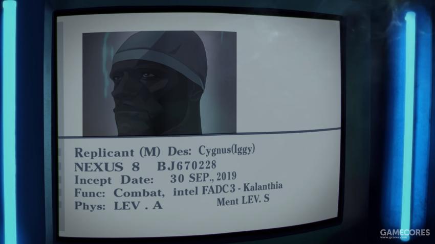 本片主角 Nexus 8代复制人Iggy
