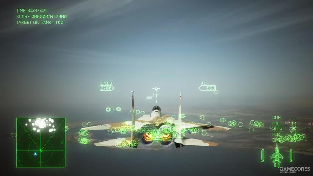 AC7中以色列空军涂装的F-15