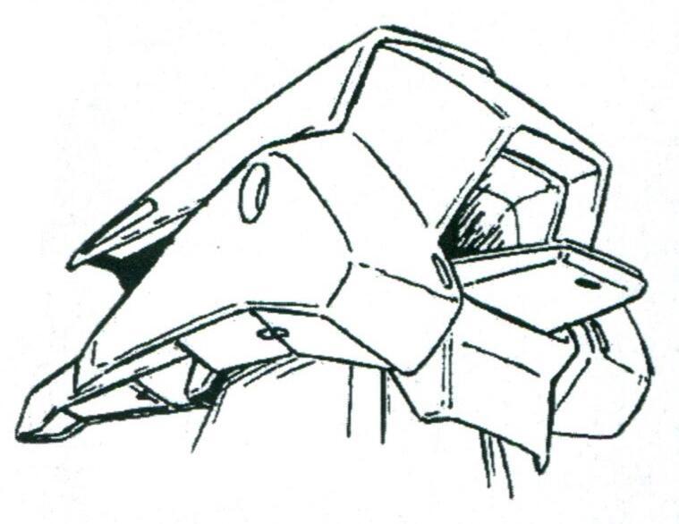 为了保证驾驶员在MA形态的出入,头部设置了独立舱门结构。