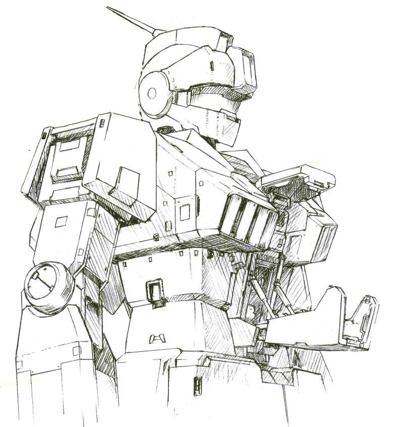 RGM-79SC因为装甲样式变更,其驾驶舱开启方式有了一定变化。继承自RX-78的小型驾驶舱开口设计由于被装甲遮挡而移除。驾驶舱改为了两片式的装甲舱门。同时,头部追加活动式的装甲帽檐。可以在近距离交战中闭合来保护主传感器。而传感器探测半径在RGM-79标准型的6000米基础上进一步提升到7300米。比起RX-78第一批次的传感器探测距离有近30%的提升。