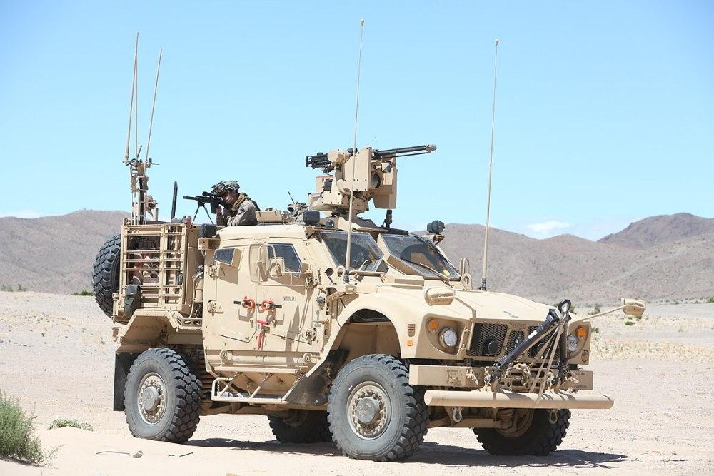 美国海军陆战队的M-ATV