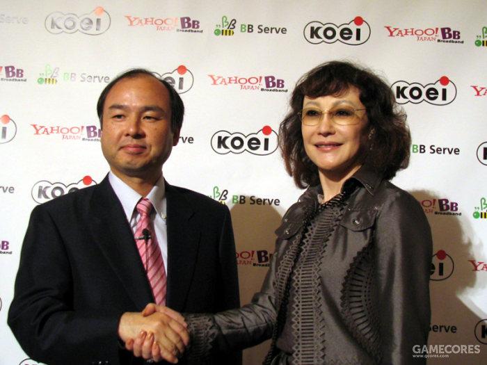 襟川惠子与孙正义也是多年的老朋友了