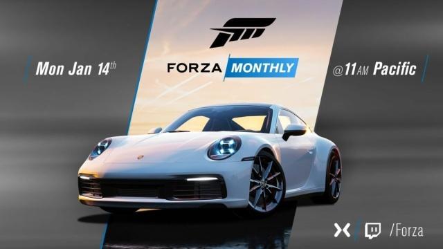 保时捷新版911跑车将登场《极限竞速》系列游戏