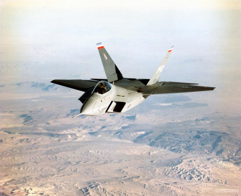 YF-22作为PAV原型机,并不会搭载作战用的航电设备。取而代之的是机体上下的多种传感器。