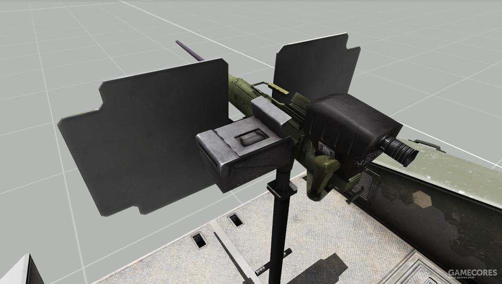 艇尾可以搭载一门轻机枪或重机枪