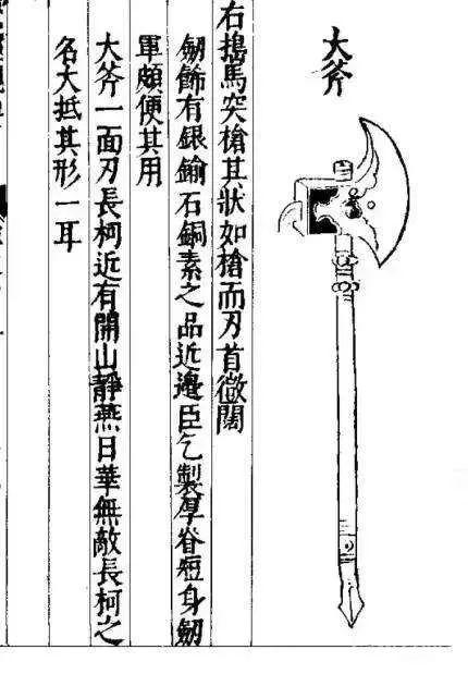 大斧,话说同时代英格兰人也在用大斧对抗诺曼骑士来着