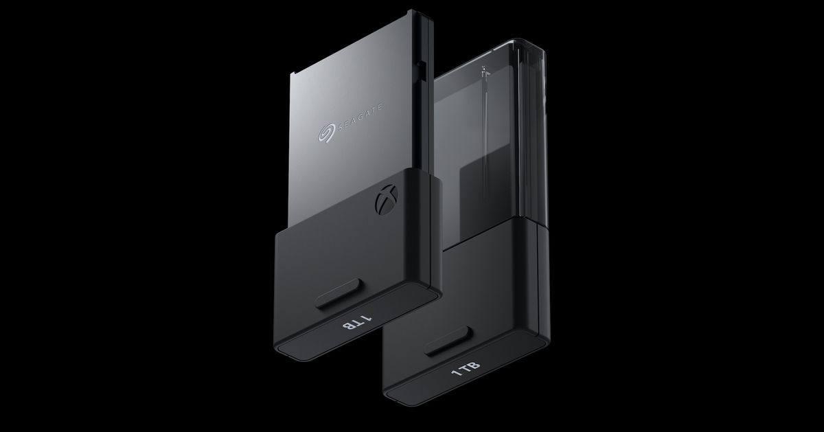 国行希捷 Xbox Series X/S 专用储存扩展卡公布,售价1699元人民币