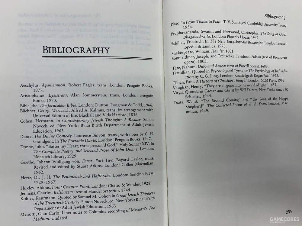 PKD在书后列出的参考书目