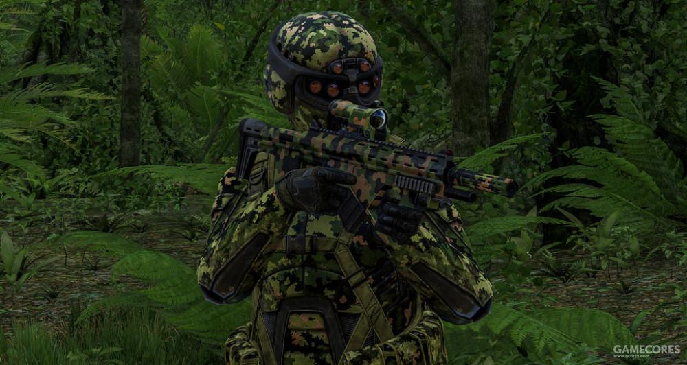"""使用115式步枪的""""毒蛇组""""特种兵,看起来好科幻"""