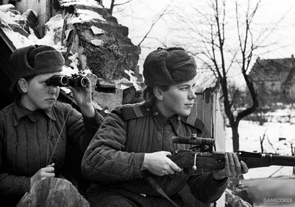 红军女战士
