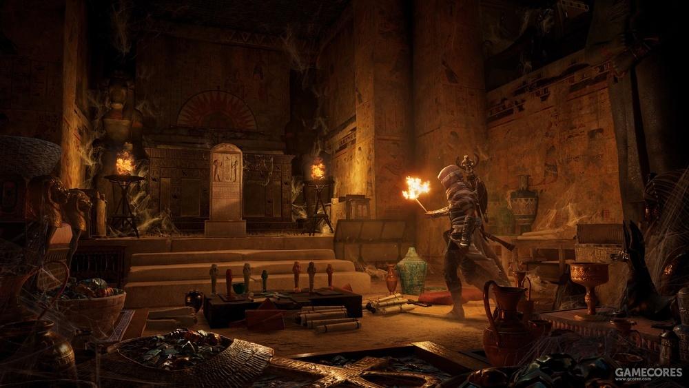 《法老的诅咒》和《列王陵》《暴君华盛顿》这三个DLC都带有很浓的奇幻色彩