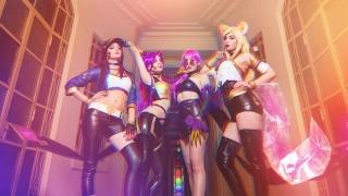 毫不意外,《英雄联盟》K/DA女团已经有了很棒的Cosplay