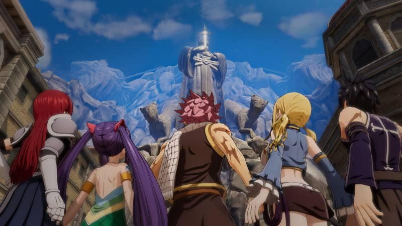 RPG游戏《妖精的尾巴》中文官网上线,特色玩法公开