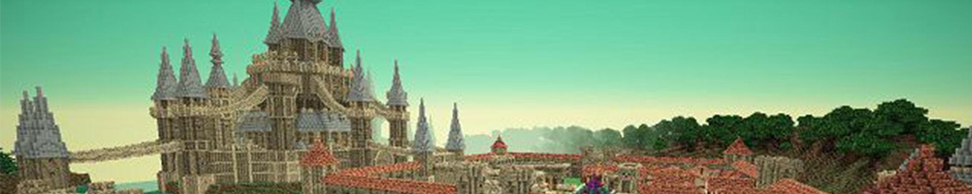 用乐高搭个海拉尔城堡