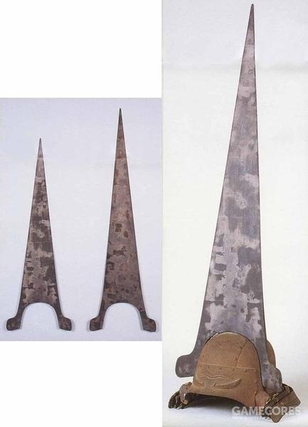 森长可 革包畦目缀二枚胴具足银箔押大钉头立付头形