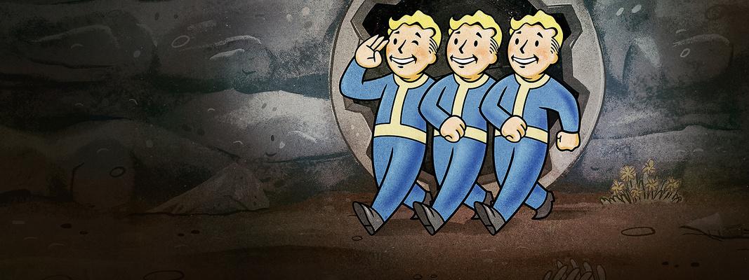 虽然全程在线,但《辐射76》更像是一群人去完成一个故事的游戏