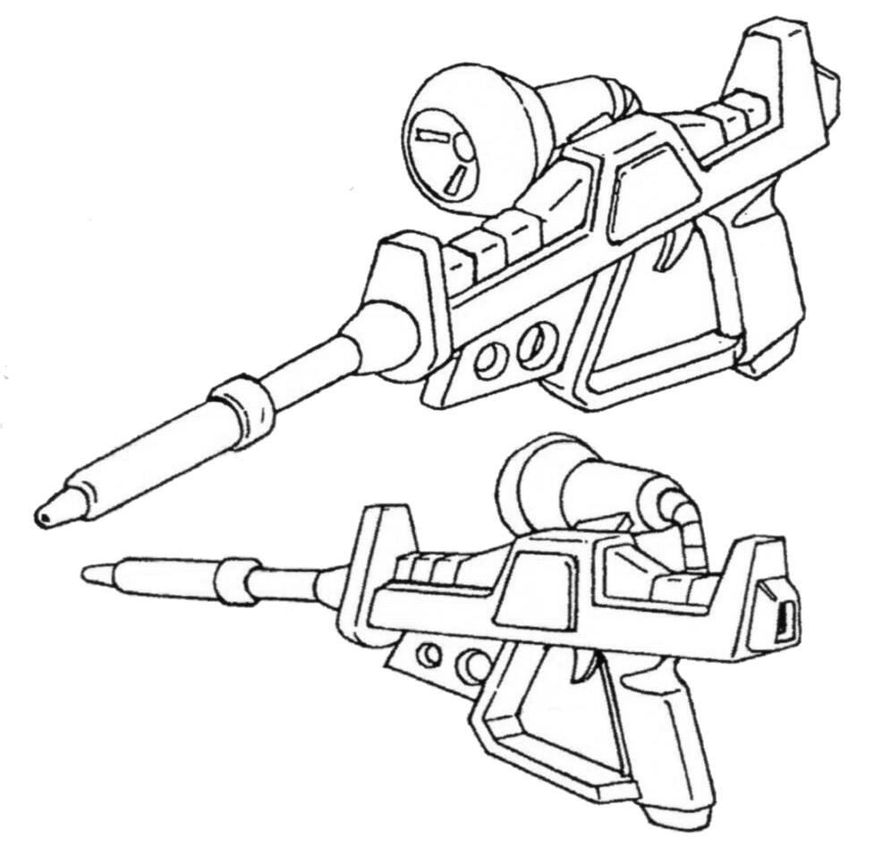 机体搭载更大功率核融合炉后,MS-06R-3能够搭载由MIP刚刚完成的光束步枪。使得MS-06R-3成为第一台标配光束步枪的吉翁系MS。