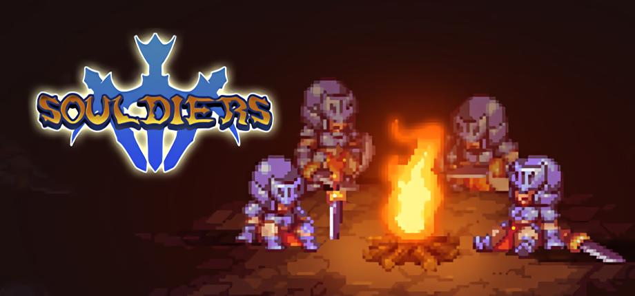 像素动作游戏《Souldiers》预告片首曝,Demo将在核聚变成都站首次亮相