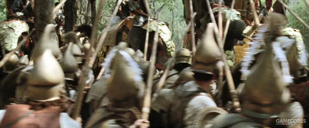 大象冲击的这段让我怀疑自己是在看《指环王3》,真的,战象没这么强
