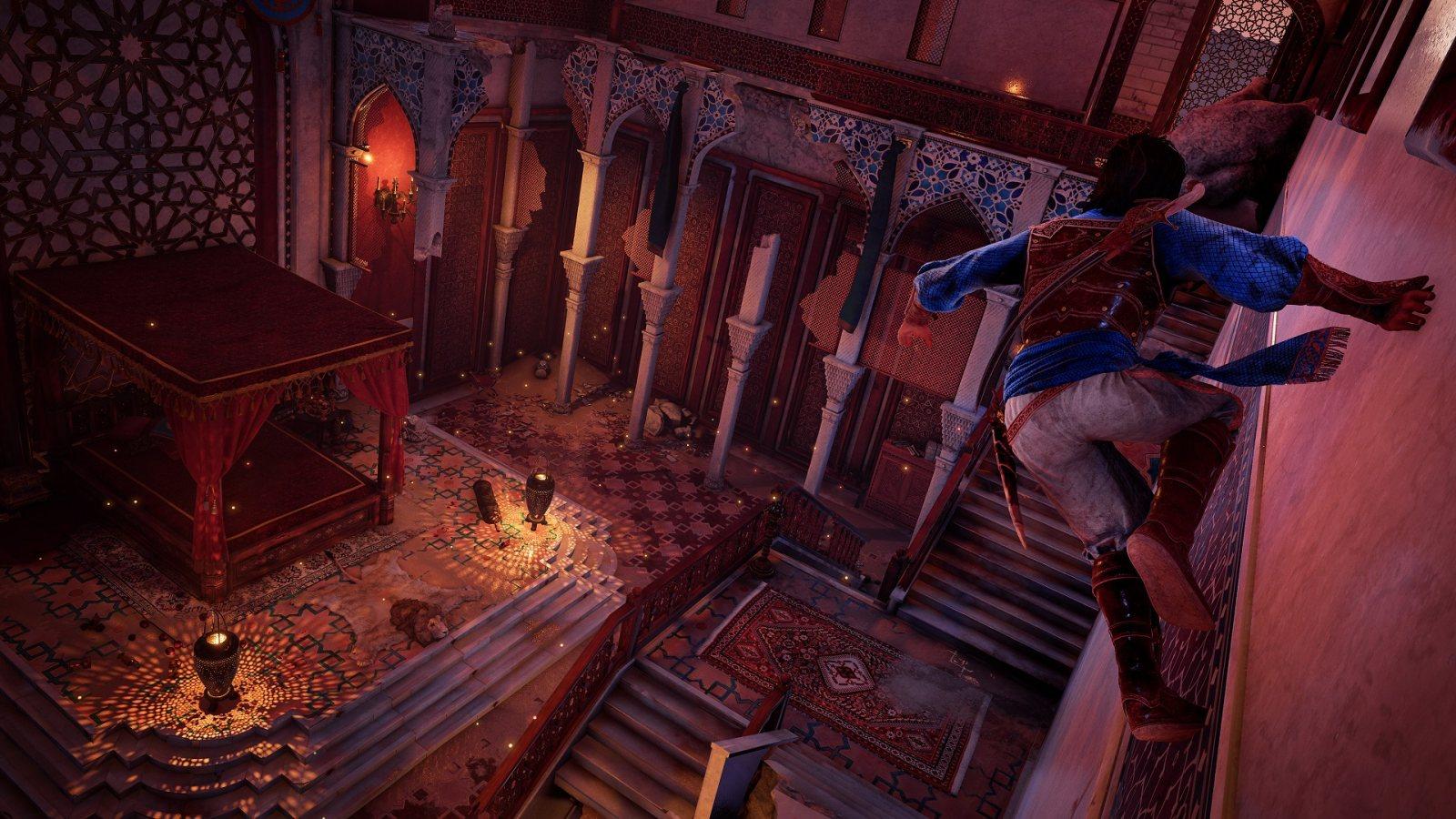 《波斯王子:时之沙》重制版公布,育碧Forward直播汇总