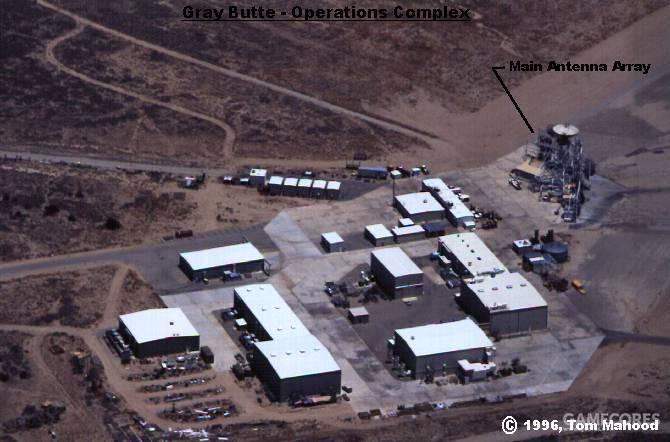 Grey Butte的RCS测试场为麦道所有。负责诺斯罗普团队ATF项目的自行验证测试。