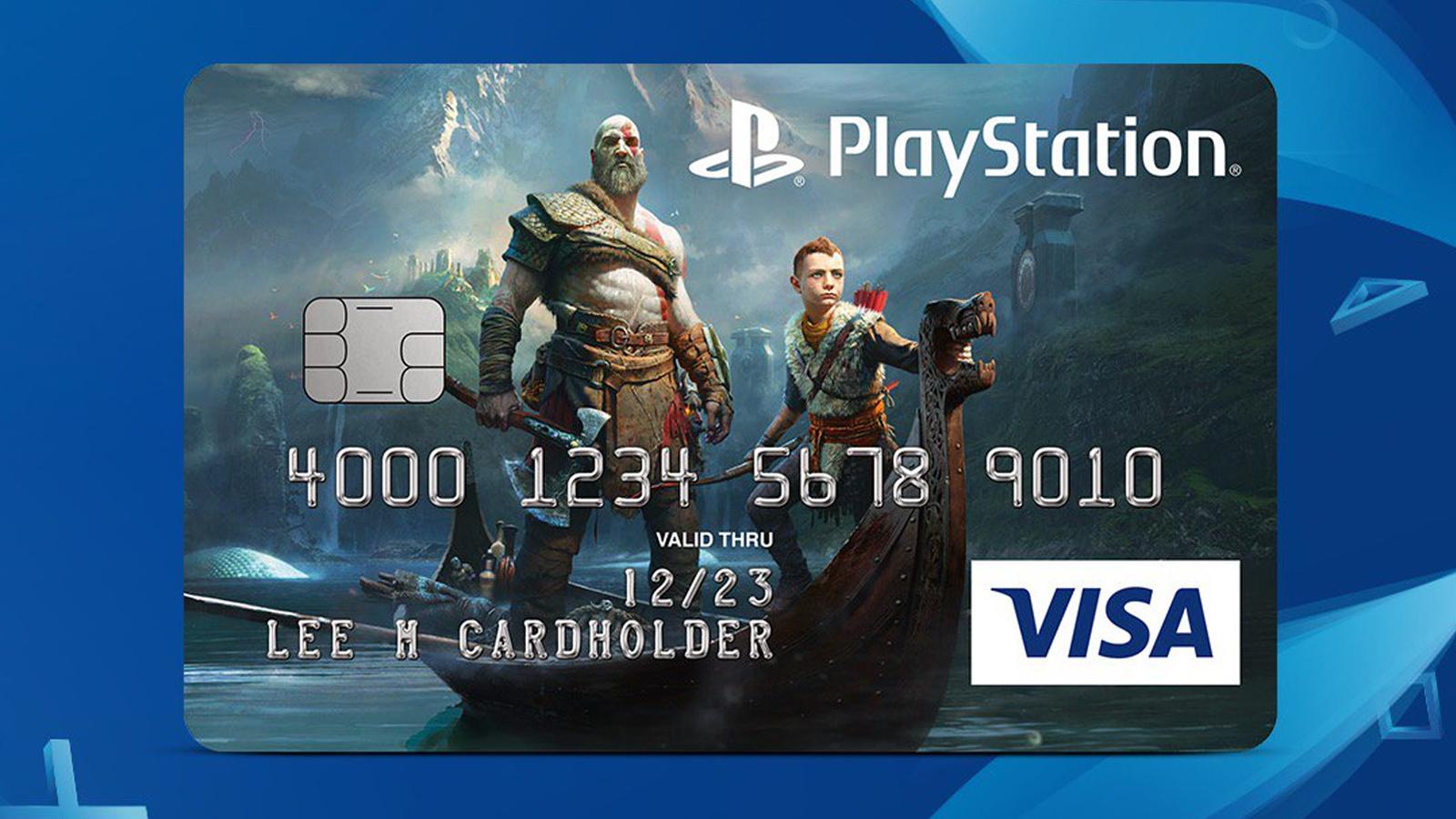 想擁有一張戰神的信用卡麼?美國VISA實現你的願望