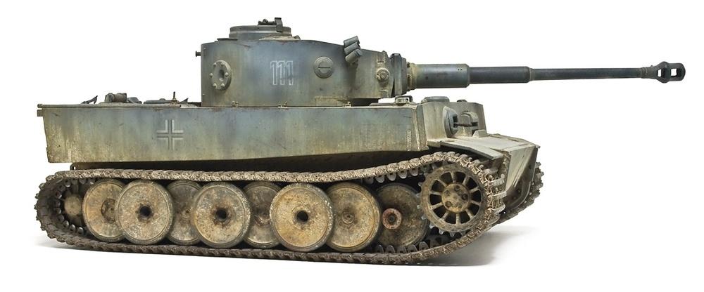 502重型坦克营111号初期虎式坦克
