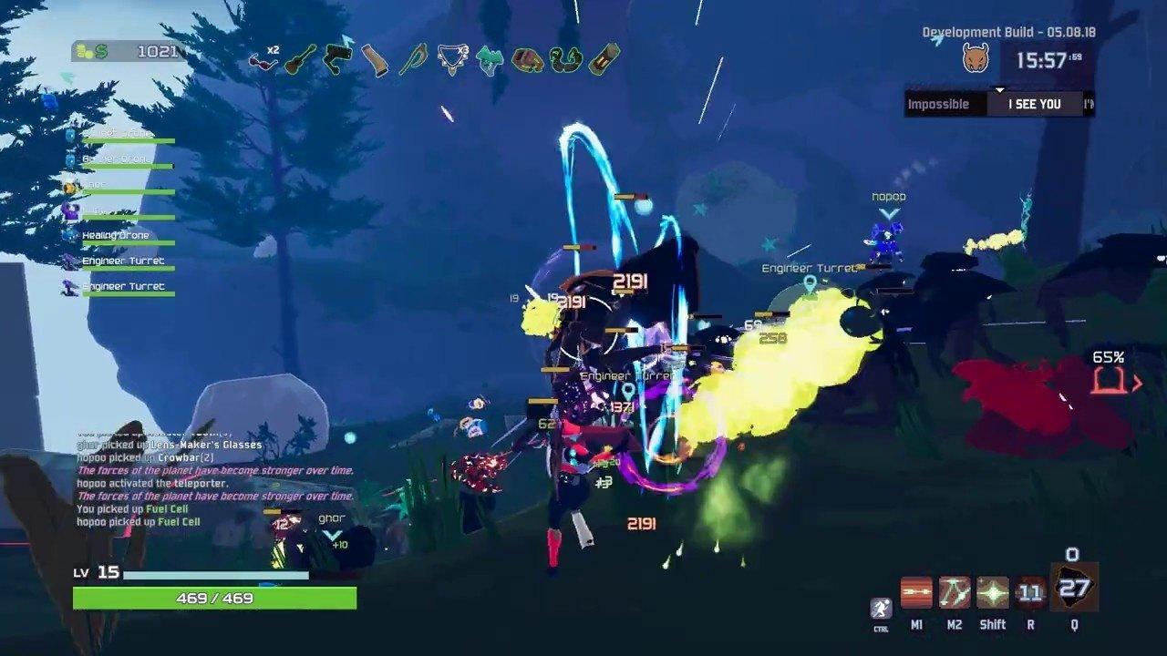 《Risk of Rain2》公开最新实机画面