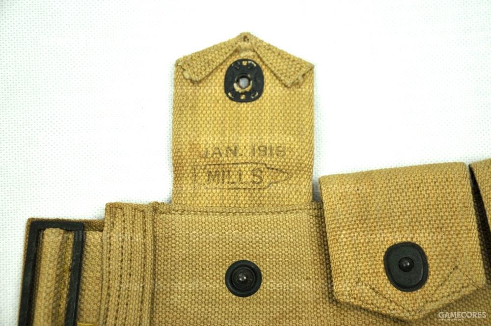 M1912 骑兵斜跨弹药带