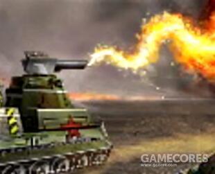 火龙坦克,喷火坦克,专业清理驻军,大范围扇形AOE喷火巧用可以有奇效