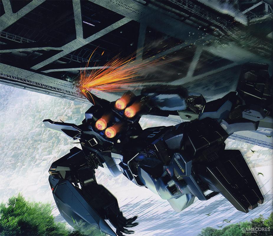 由坠毁的四号机相同驾驶员驾驶一号机在训练中中留下的影像,可以看到MS的手持武装是训练用的气球枪。看情况是驾驶员试图将接近中的交通桥作为目标练习紧急回避动作。不过擦过桥底的火花显示动作完成的并不顺利。