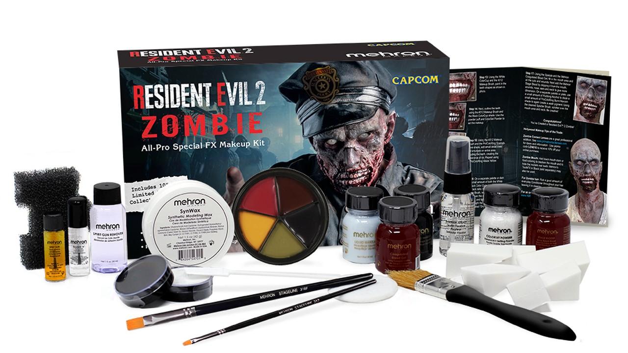 你離殭屍最近的一次,CAPCOM推出《生化危機2》殭屍特效化妝包