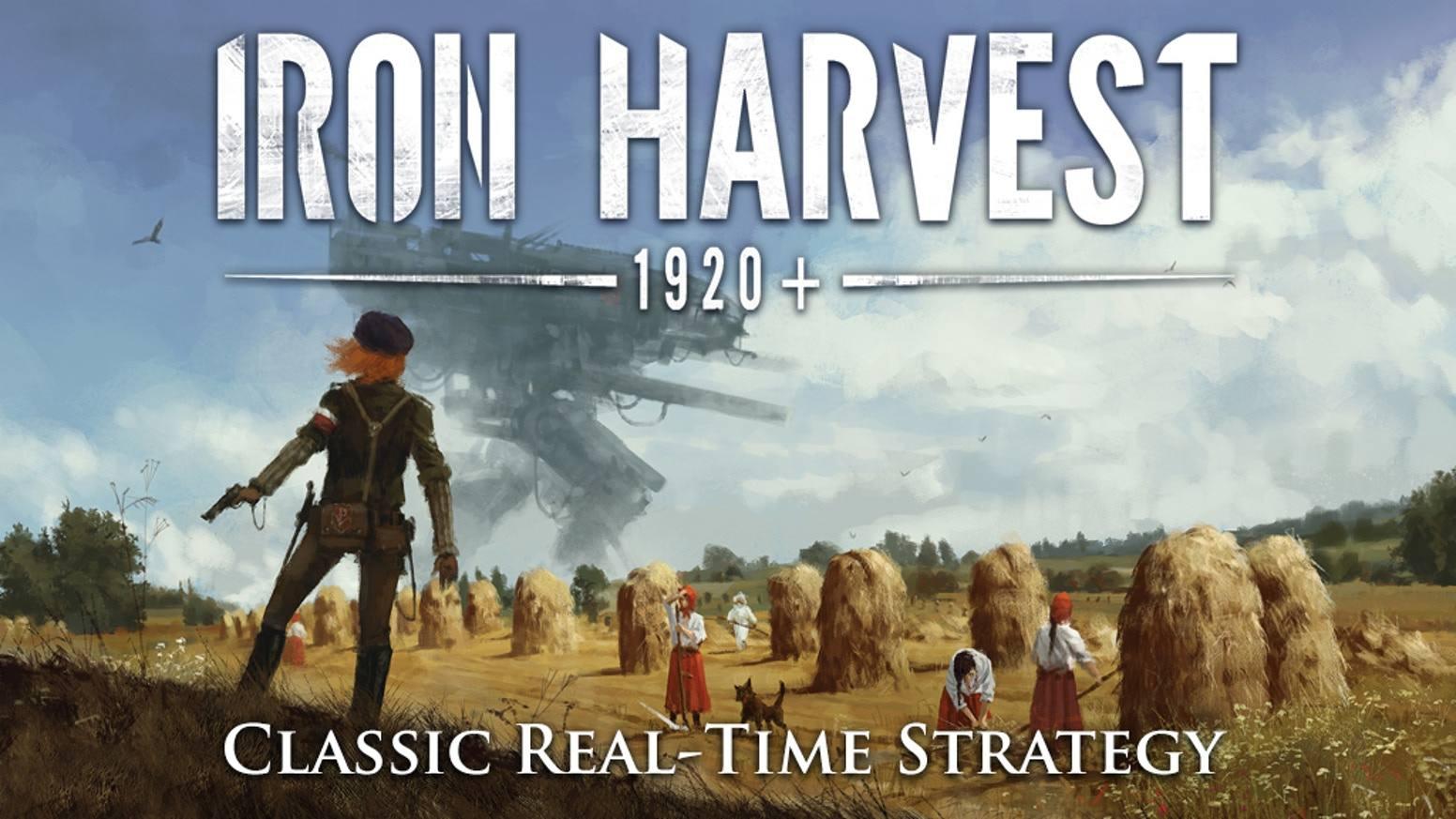 游戏《Iron Harvest》最新宣传片公开,9月2日发售