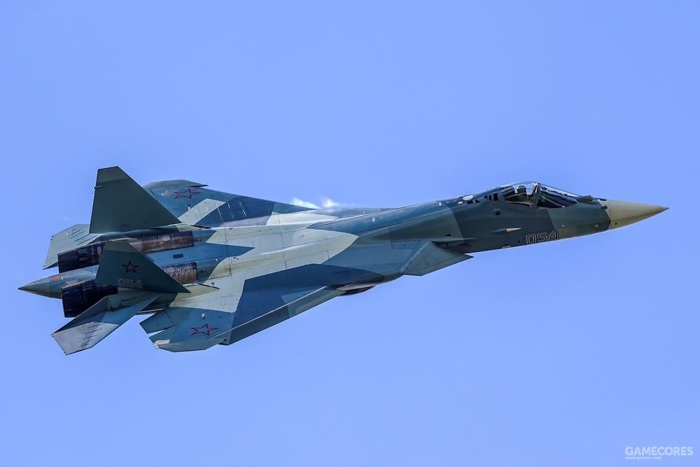 后来SU-57也有用,不过现在最新涂装已经不用了