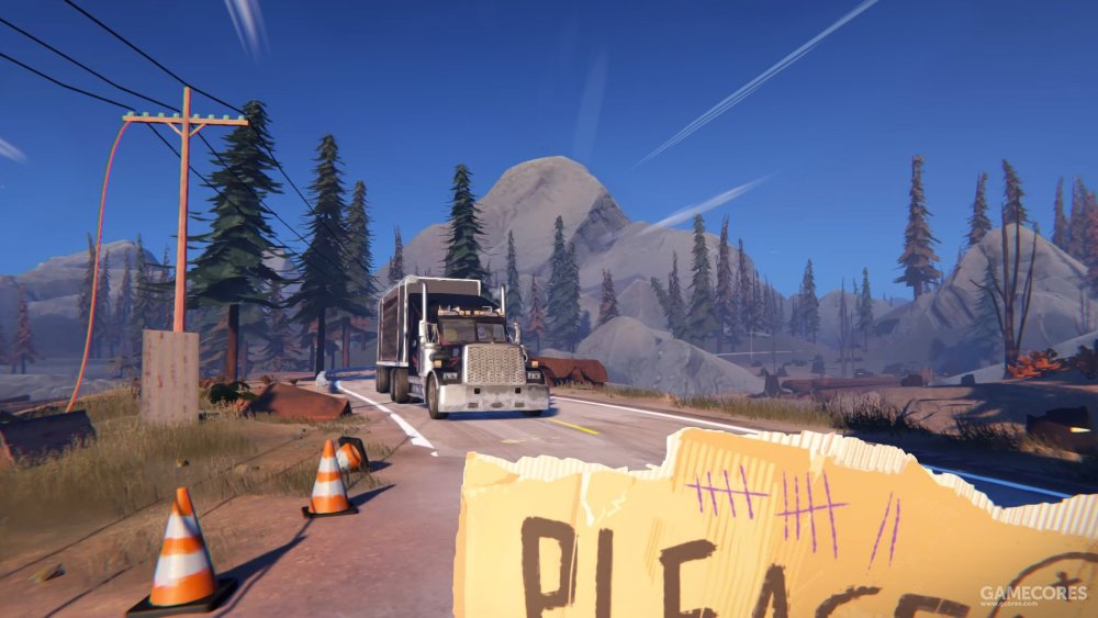 《勇敢的心》总监新作,程序生成式公路冒险游戏《九十六号公路》将于8月16日上线