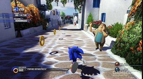 《索尼克大冒险》游戏画面