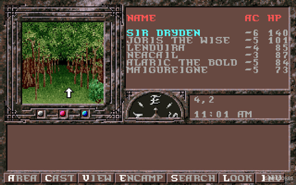 """""""金盒子""""系列游戏在探索时是第一人称,战斗时才转为战棋"""