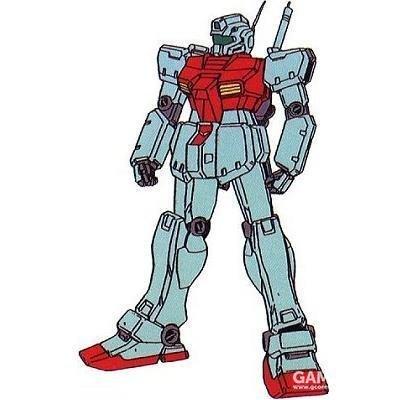 ova动画《机动战士高达0083:星尘的回忆》中的吉姆C型。造型基本为Ka氏设计,为了作画便利,造型有所简化。