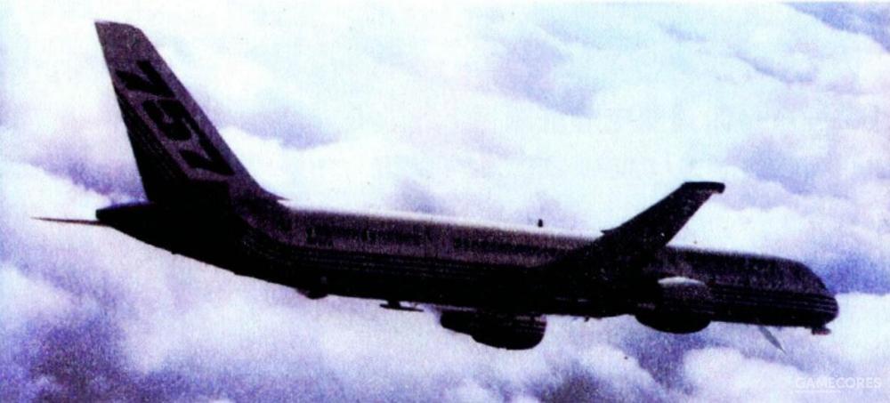 洛克希德团队的AFL改装平台为一架波音757,该机执行Dam/Val阶段测试的涂装如图。