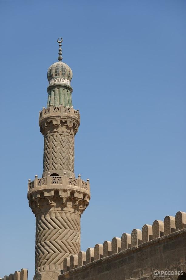 纳赛尔清真寺的宣礼塔