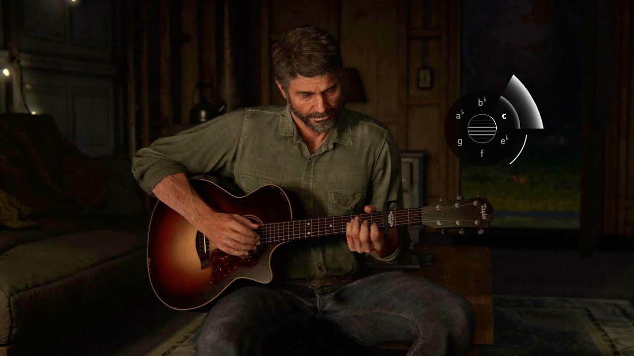 《最后生还者:第二章》与泰勒展开合作,推出两款联名吉他