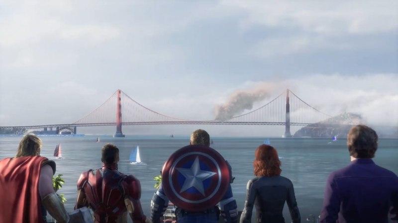 《漫威复仇者》公布游戏上市预告,将于9月4日正式发售